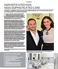 Gotham Magazine - Sophisticated kids need sophisticated care